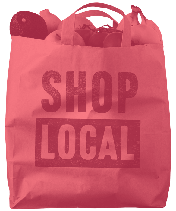local shopping bag