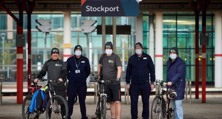 Stockport Avanti West Coast team take on fundraising challenge