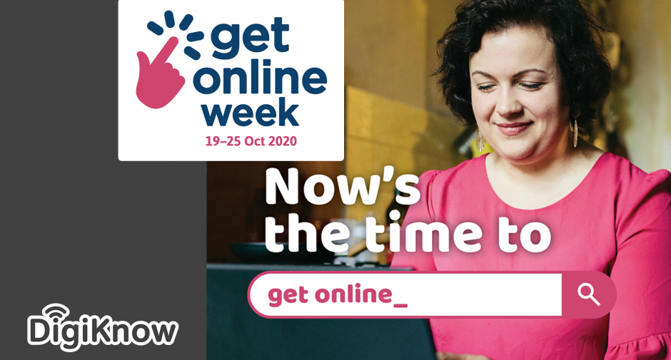 Get Online Week – it's never been more important to keep in touch
