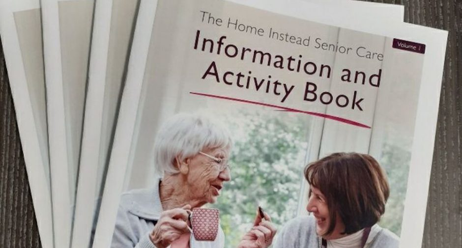 Home Instead deliver activity books in the community