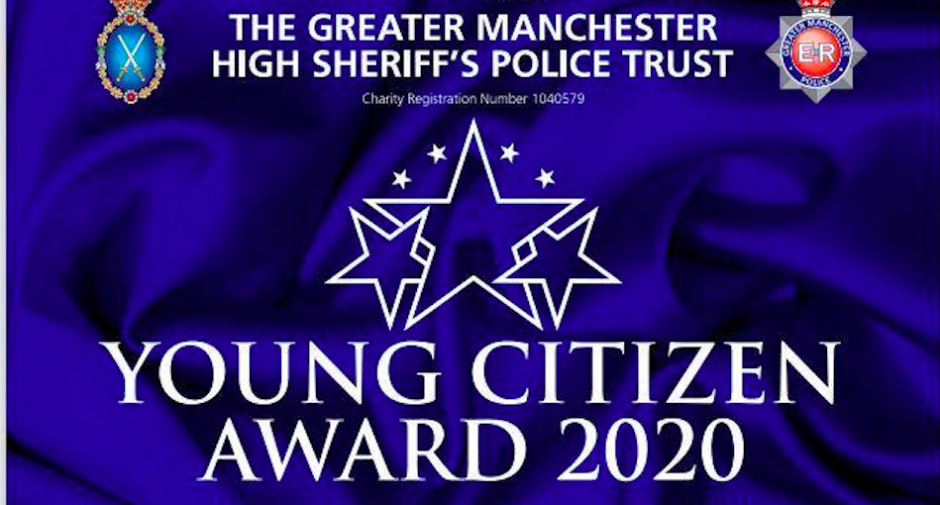 High Sheriff Greater Manchester Young Citizenship of the Year Award 2020