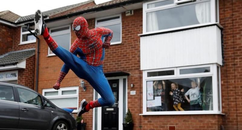 Stockport Spiderman – how it all started!