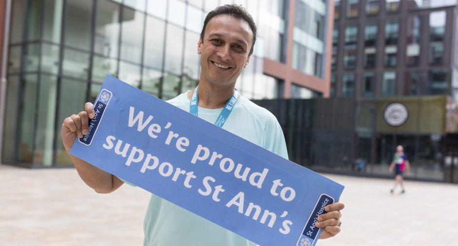 Emmerdale's Chris Bisson support's St Ann's Hospice birthday challenge