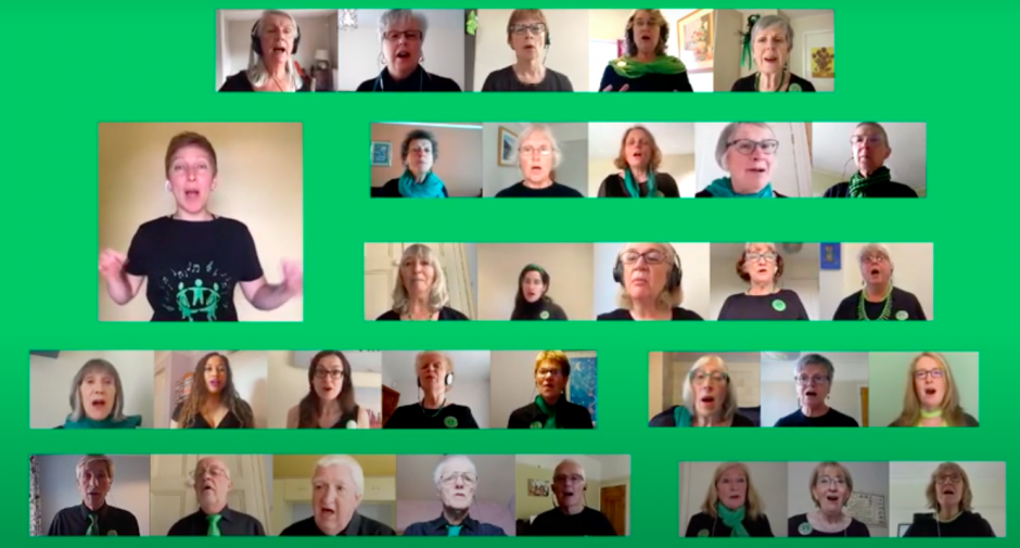Manchester Community Choir's video to raise money Samaritans