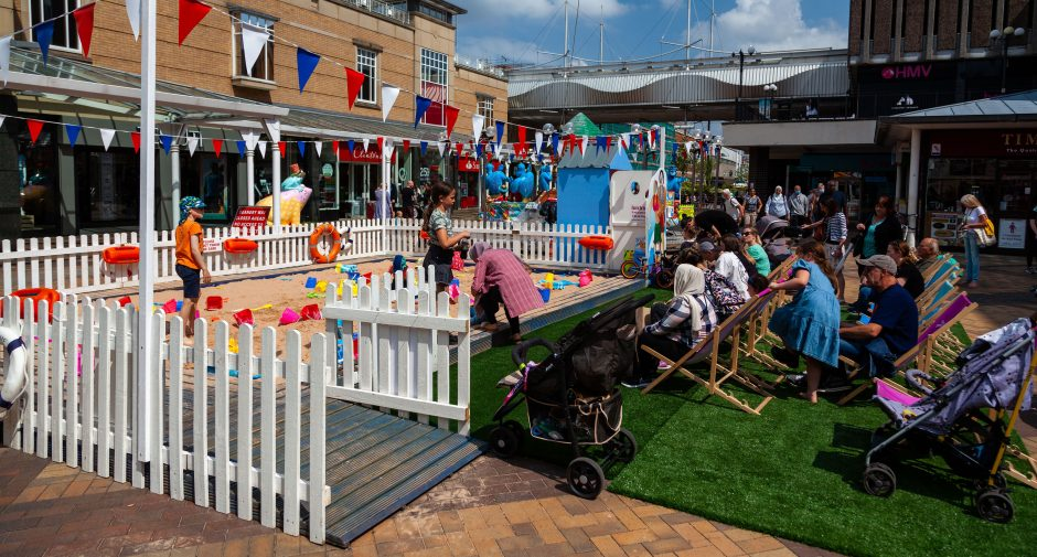 Families guaranteed a day by the seaside as Merseybay returns to Merseyway