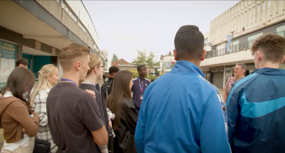 Regeneration Brainery gives 15 and 16 year olds a chance to discover regeneration in Stockport