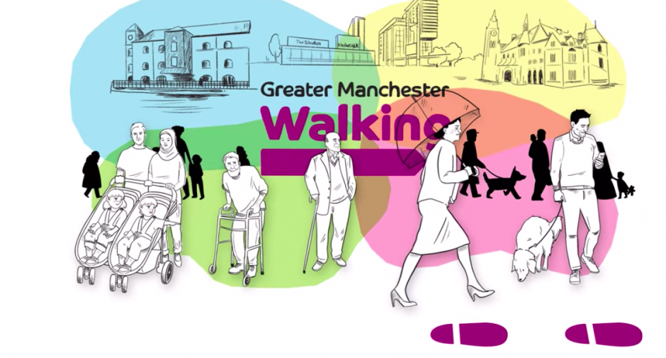Take a walk this summer with Greater Manchester Walking