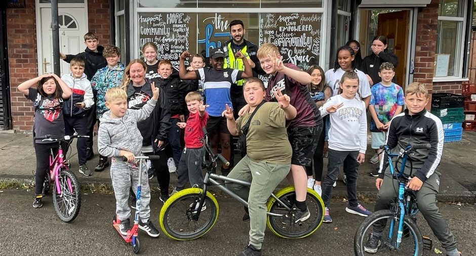 Young people of Stockport receive over £27,000 in R Time funding for their community